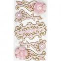Цветочные узоры Украшения для скрапбукинга, кардмейкинга Марта Стюарт Martha Stewart