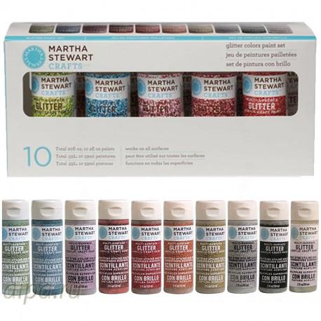 Набор акриловых красок для любых поверхностей Марта Стюарт Martha Stewart