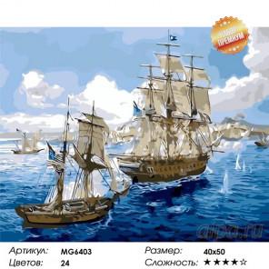 Количество цветов и сложность Попутный ветер Раскраска картина по номерам на холсте MG6403