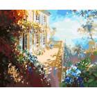 Утренняя терраса Раскраска картина по номерам на холсте Z-GX6297