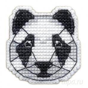 В рамке Панда набор Значок Набор для вышивания Овен 1092