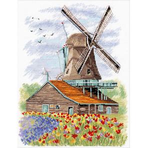 Ветряная мельница. Голландия Набор для вышивания Овен