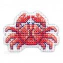 Краб Значок Набор для вышивания Овен