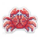 В рамке Краб Значок Набор для вышивания Овен 1099