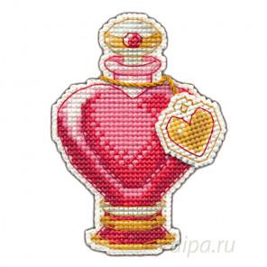 В рамке Любовное зелье Набор для вышивания с магнитом Овен 1106