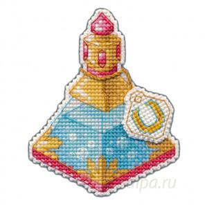 В рамке Зелье удачи Набор для вышивания с магнитом Овен 1107