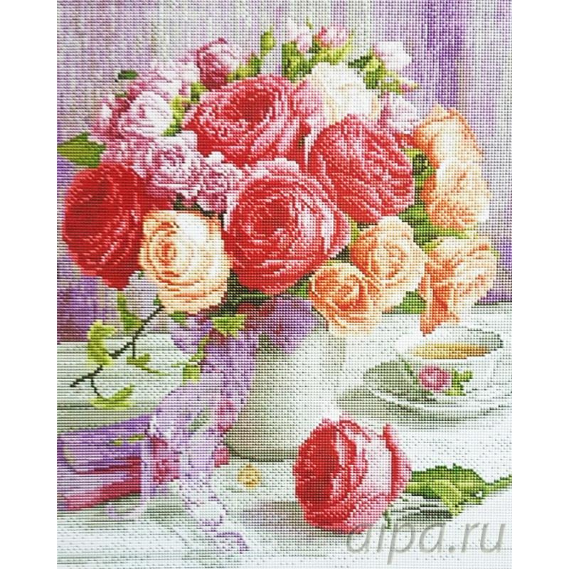 Алмазная мозаика фото цветы