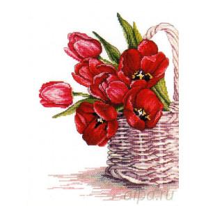 Цветы счастья Набор для вышивания МП Студия НВ-520