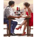 Заказ в Валентинов день Алмазная мозаика на подрамнике LG071