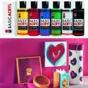Basic Acryl Набор акриловых красок 6 шт. Marabu ( Марабу)