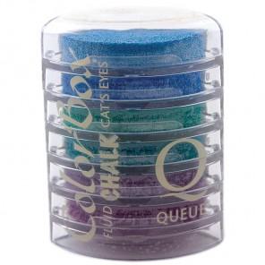 Сине-фиолетовые оттенки Штемпельные пигментные подушки для скрапбукинга, кардмейкинга Docrafts