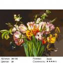 Количество цветов и сложность Голландские тюльпаны Раскраска картина по номерам на холсте Белоснежка 261-AS