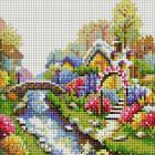 Лето Алмазная вышивка мозаика на подрамнике Белоснежка 390-ST-S