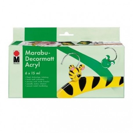 Decormatt Набор матовых красок Marabu ( Марабу)