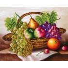 Корзина с фруктами Алмазная мозаика на подрамнике LGP006