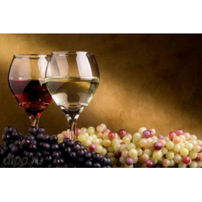 Напиток любви  Алмазная частичная вышивка (мозаика) 5219
