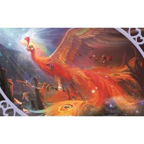 Жар-птица Алмазная частичная вышивка (мозаика) D-2291