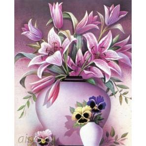 Цветок Алмазная частичная вышивка (мозаика) HG-5323