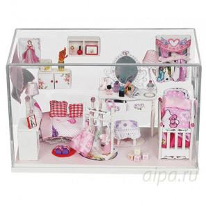Комната принцессы Набор для создания миниатюры румбокс 009-B
