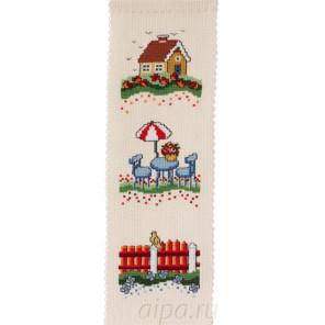 Красный забор Набор для вышивания Permin