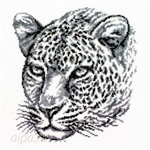 Леопард Набор для вышивания Белоснежка
