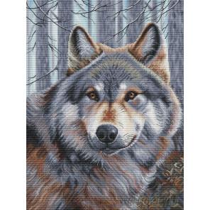 Волк Набор для вышивания Белоснежка