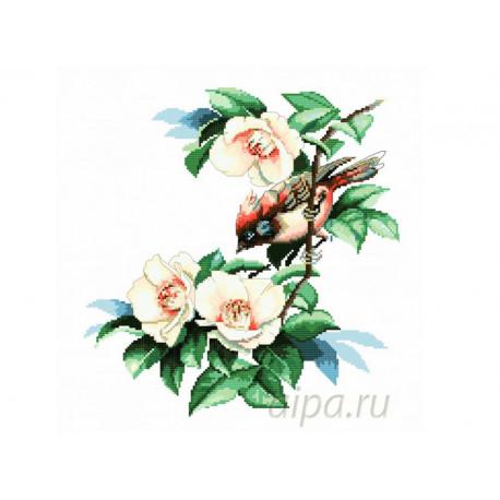 В цветах магнолии Набор для вышивания Белоснежка 1165-14