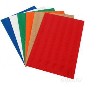 Набор гофрированной бумаги для скрапбукинга, кардмейкинга Белоснежка 039-SB