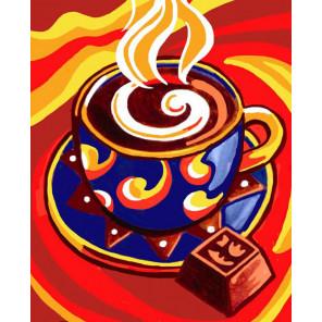 Кофейный аромат Алмазная вышивка мозаика Color Kit