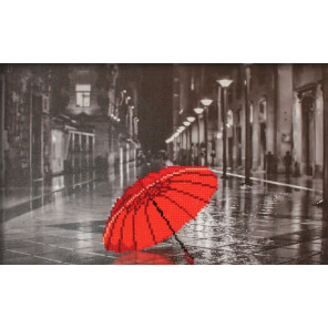 Зонтик Алмазная частичная вышивка мозаика Color Kit