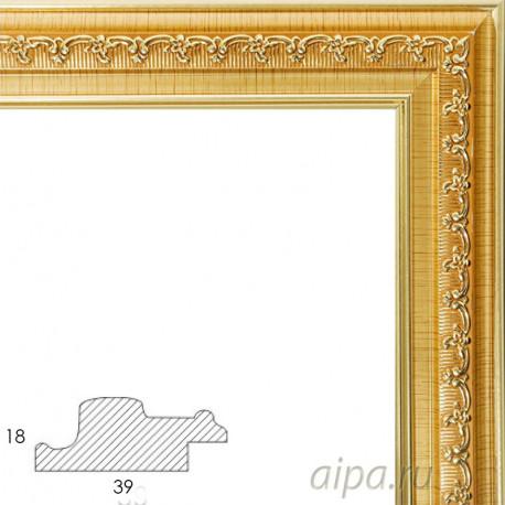 Bella Золотая Рамка багетная универсальная для картины 1050-BL