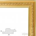 Bella Золотая Рамка багетная универсальная для картины