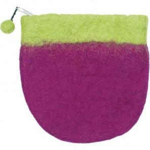 Двухцветная сумочка из войлока Dimensions