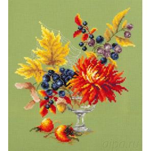 Осенний букетик Набор для вышивания Чудесная игла