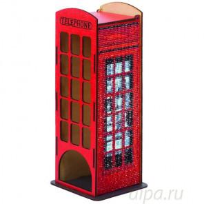 Телефонная будка Чайный домик с алмазной мозаикой Гранни W0004