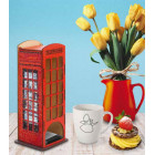 Телефонная будка Чайный домик с алмазной мозаикой Гранни