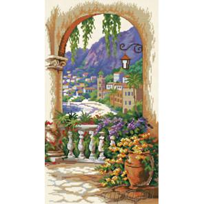Вид с террасы Набор для вышивания Белоснежка 4028-14