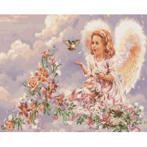 Радости неба Раскраска картина по номерам на холсте