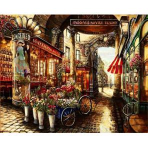 В Париже Раскраска картина по номерам на холсте