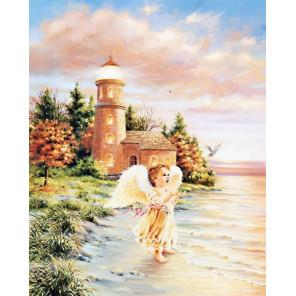 Ангел стихии Раскраска картина по номерам на холсте