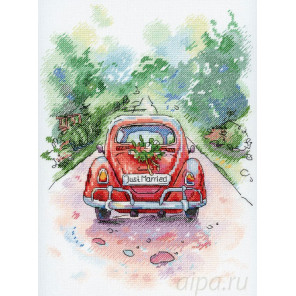 Романтическое путешествие Набор для вышивания МП Студия А-004