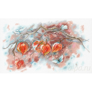 Осенние фонарики Набор для вышивания МП Студия