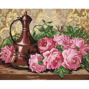 Аромат роз Раскраска картина по номерам на холсте CG911