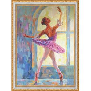 Балерина Набор для создания картины из пайеток CME015