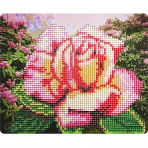 Нежная роза Алмазная вышивка мозаика Color Kit M005