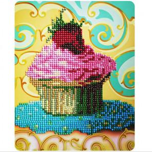 Красивый десерт Алмазная вышивка мозаика Color Kit M010