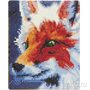 Янтарная хищница Алмазная вышивка мозаика Color Kit MP003