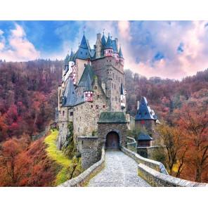 Замок феи Раскраска по номерам на холсте