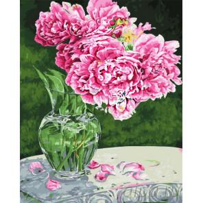 Нежные цветы Раскраска по номерам на холсте CG824