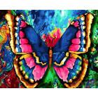 Бабочка Раскраска по номерам на холсте CG849